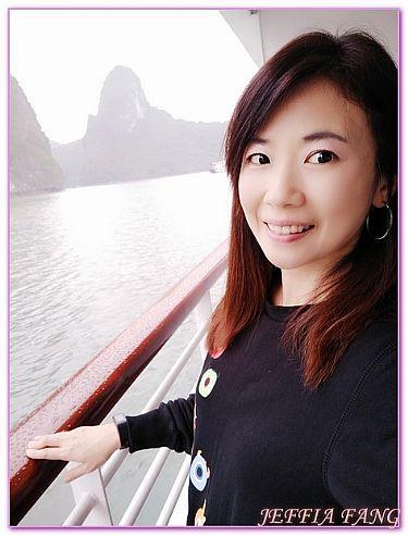 下龍灣,越南,越南旅遊,雅儷號PARADISEELEGANCE,飯店或度假村 @傑菲亞娃JEFFIA FANG
