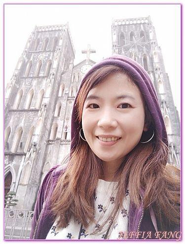 景點,河內HANOI,越南,越南旅遊,電瓶車36古街河內大教堂 @傑菲亞娃JEFFIA FANG