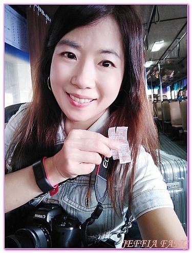 廊曼DMK機場公車往返市區,曼谷自由行,機場,泰國,泰國旅遊 @傑菲亞娃JEFFIA FANG