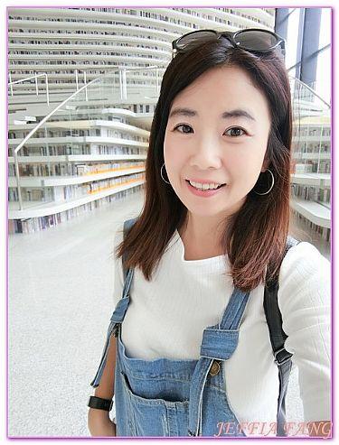 大陸,大陸旅遊,天津TianJin,景點,濱海文化中心圖書館 @傑菲亞娃JEFFIA FANG