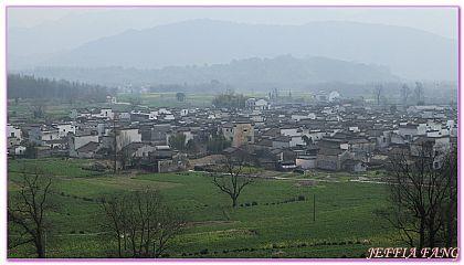 大陸,大陸旅遊,安徽Anhui,景點,盧村 @傑菲亞娃JEFFIA FANG