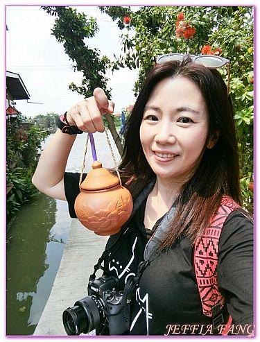 景點,曼谷Bangkok,河中島Koh Kret,泰國,泰國旅遊 @傑菲亞娃JEFFIA FANG