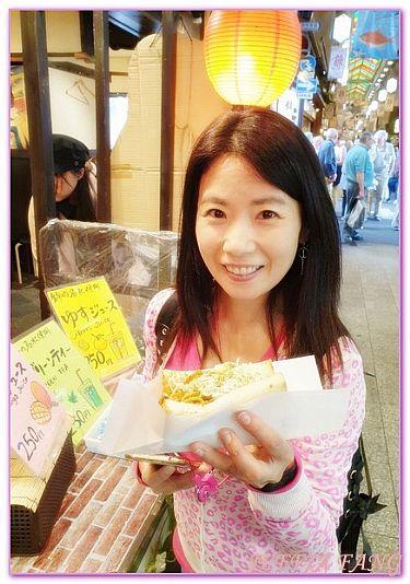 京都Kyoto,日本,日本旅遊,景點,錦市場Nishiki @傑菲亞娃JEFFIA FANG