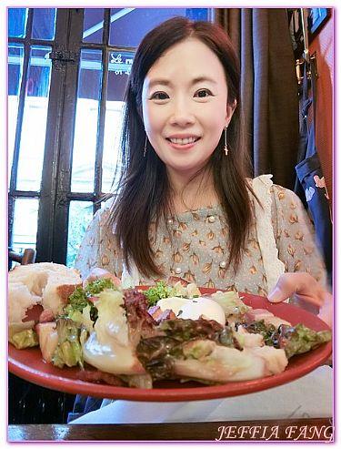 Bouchon LesLyonnais,法國旅遊,西歐法國,里昂,餐廳及小吃 @傑菲亞娃JEFFIA FANG