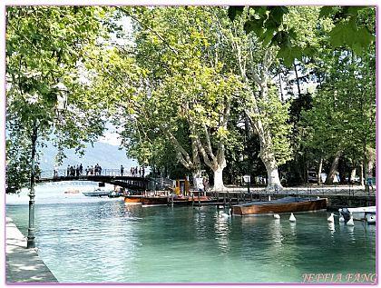 安錫Annecy,安錫湖情人橋,景點,法國旅遊,西歐法國 @傑菲亞娃JEFFIA FANG