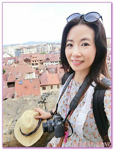 安錫Annecy,小島宮安錫城堡,景點,法國旅遊,西歐法國 @傑菲亞娃JEFFIA FANG