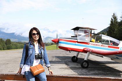 Aeroclub de Megève,景點,梅杰芙,法國旅遊,西歐法國 @傑菲亞娃JEFFIA FANG