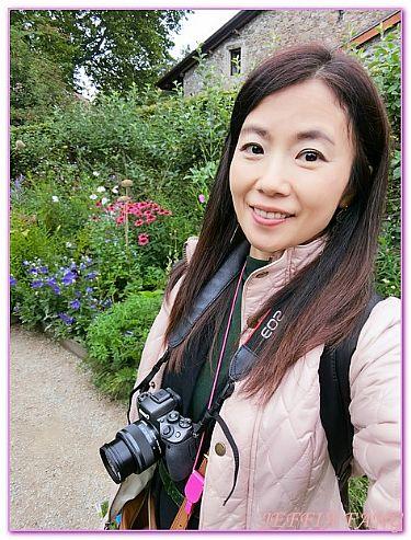 伊瓦爾Yvoire,景點,法國旅遊,石頭古城五感花園,西歐法國 @傑菲亞娃JEFFIA FANG