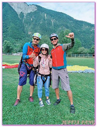 景點,法國旅遊,西歐法國,阿爾卑斯杜艾,飛翔傘翱翔天空 @傑菲亞娃JEFFIA FANG