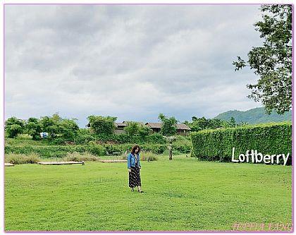 TheLoftberry Resort,拉差汶里,泰國,泰國旅遊,飯店 @傑菲亞娃JEFFIA FANG