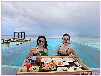 尼蘭朵環礁,度假村,悅椿 薇拉瓦魯度假村,馬爾地夫Maldives,馬爾地夫旅遊 @傑菲亞娃JEFFIA FANG