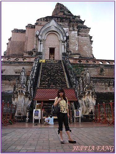 景點,泰國,泰國旅遊,泰國清邁旅遊,清邁古城寺廟 @傑菲亞娃JEFFIA FANG