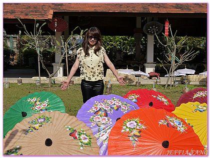 景點,泰國,泰國清邁旅遊,泰國清邁自由行,清邁紙傘 @傑菲亞娃JEFFIA FANG