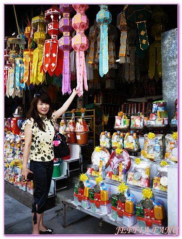 景點,泰國,泰國清邁旅遊,泰國清邁自由行,清邁供品專賣店 @傑菲亞娃JEFFIA FANG